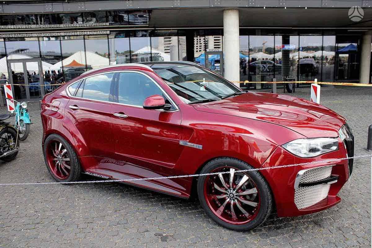 ¿Será este el tuning más feo a un BMW X6?