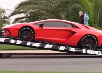 Es el más nuevo Lamborghini Aventador de Justin Bieber