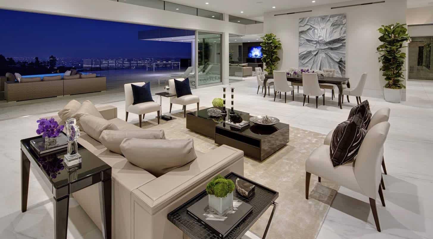 "Hermosa residencia ""Carla Ridge"" en Beverly Hills por McClean Design"