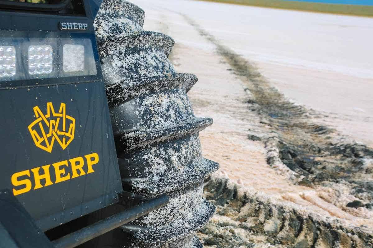 Sherp ATV: Este bestial todoterreno ruso es lo que siempre has soñado… No conoce límites en la tierra ni en el agua