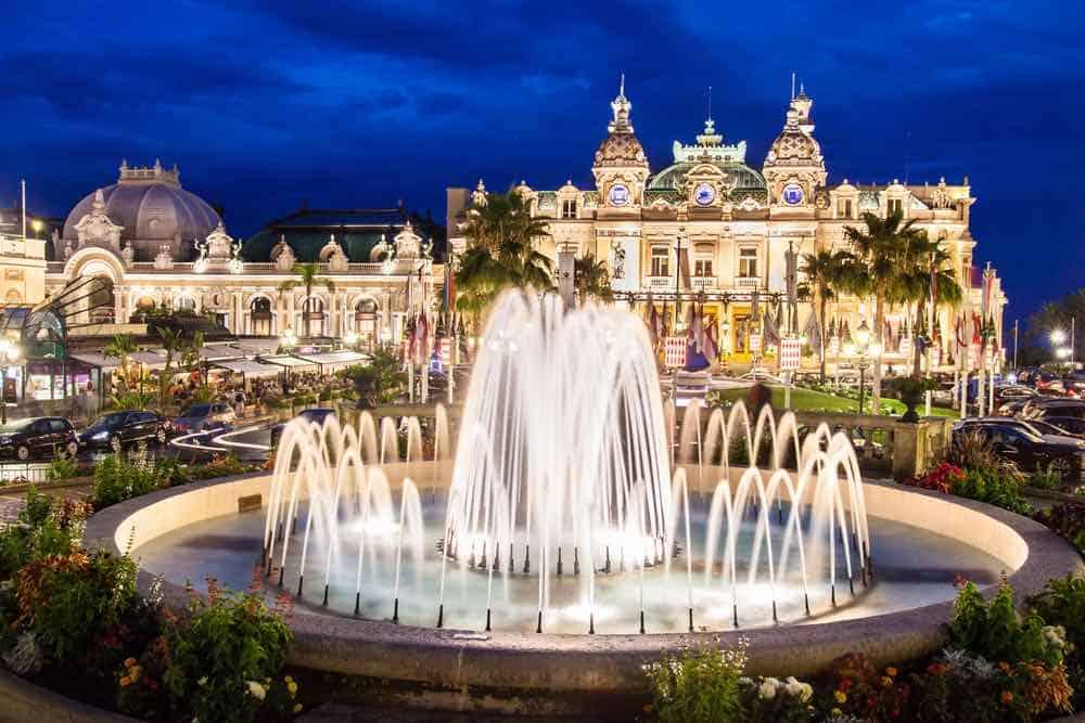 Casino en Monte Carlo, Mónaco
