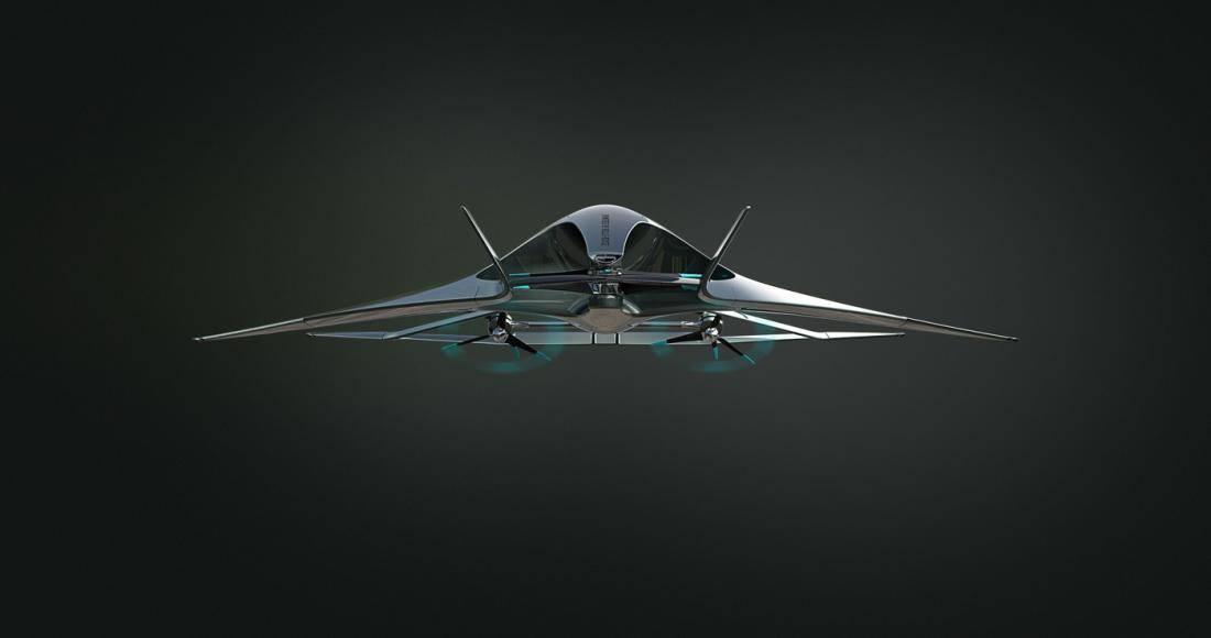 Aston Martin presenta Volante Vision Concept VTOL