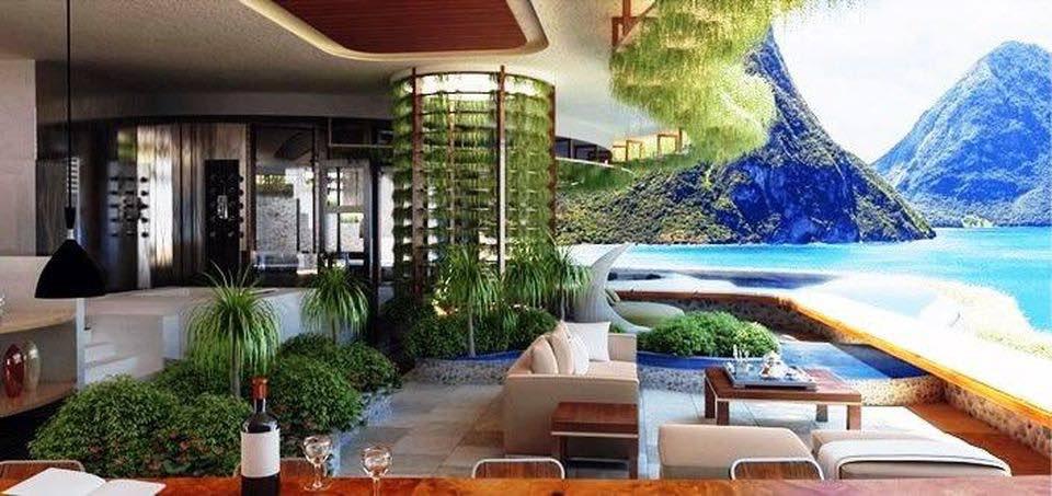 El famoso resort Jade Mountain en Santa Lucía lanzará la nueva propiedad hermana: Jade Sea
