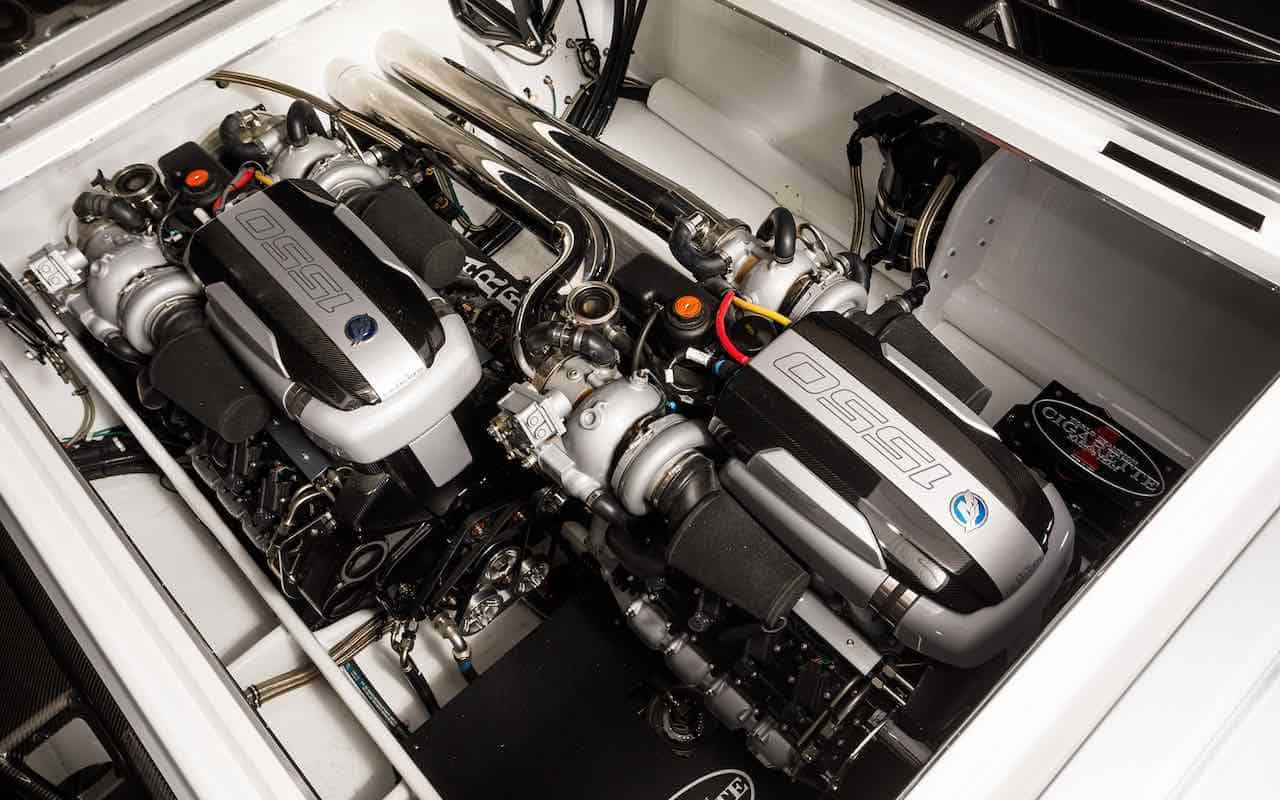 Cigarette Racing 515 Project ONE: Lancha motora de 3.100 caballos de fuerza