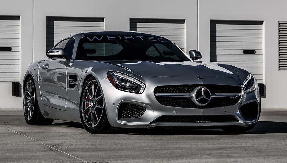 Weistec Engineering le da a este Mercedes-AMG GT una mejora digna