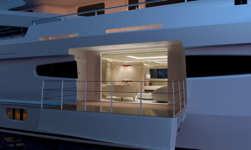 Este es el ultra moderno yate híbrido Amels 188 del astillero holandés Amels