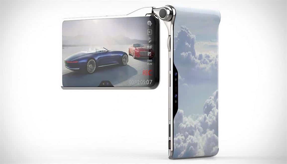 Este teléfono inteligente tiene tres pantallas, dos procesadores, cuatro cámaras y el ridículo precio de $2.750