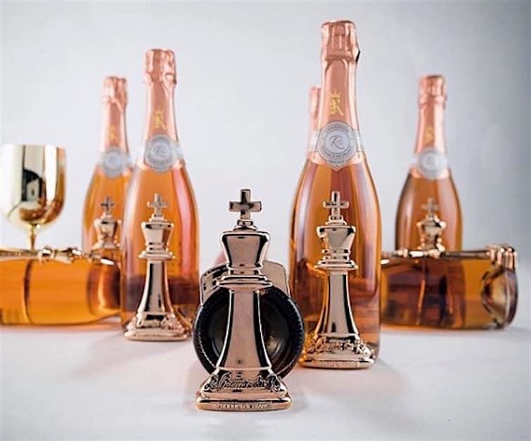 50 Cent lanza su exclusivo champán de $1.000 la botella — Le Chemin du Roi ¡Solo para ganadores!