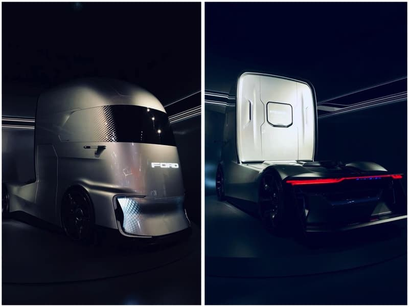 Ford presenta el concepto F-Vision, una truck eléctrica autónoma del futuro