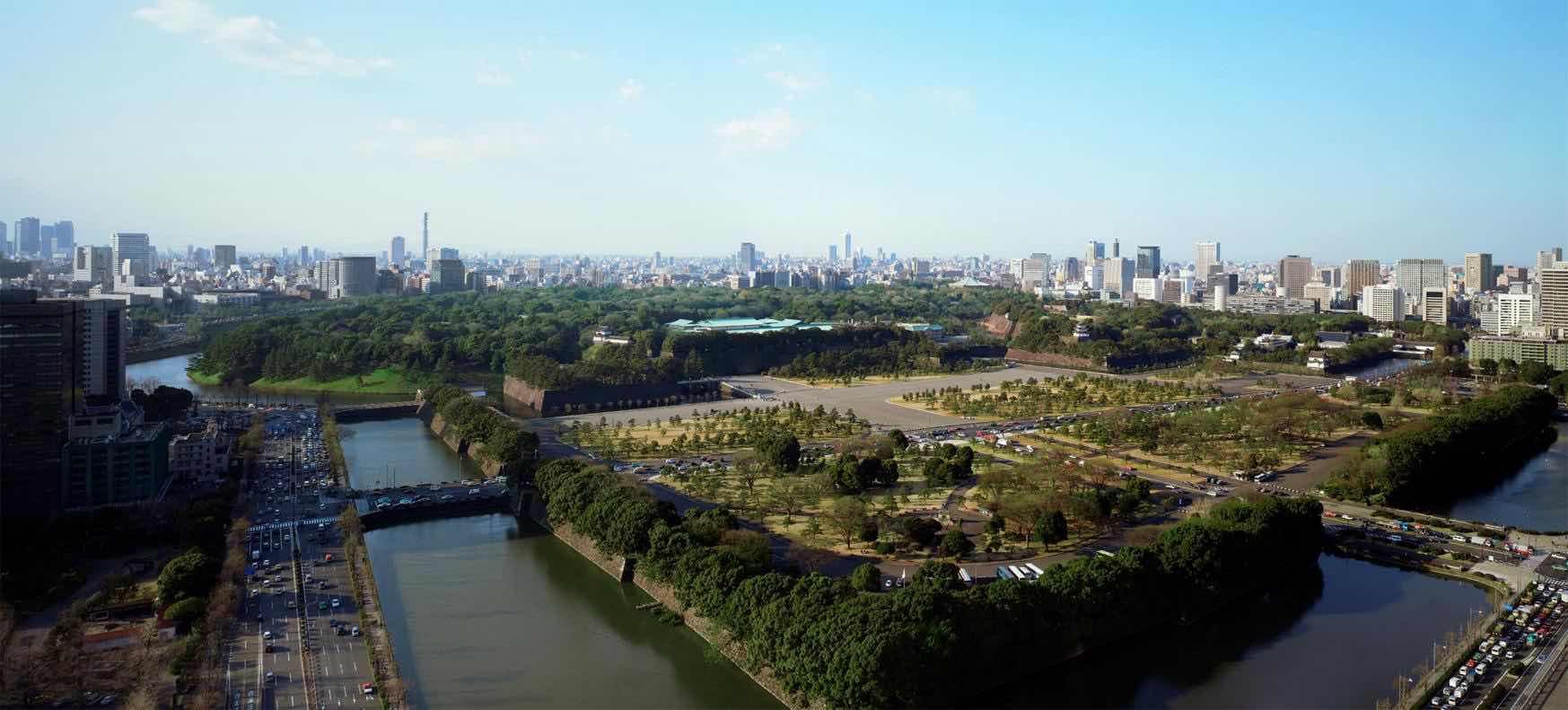Caminata por el Jardín del Palacio Imperial