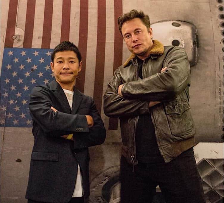 El multimillonario japonés Yusaku Maezawa será el primer turista en visitar la Luna con el proyecto SpaceX de Elon Musk