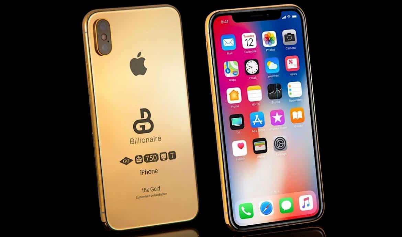 Esta versión en oro de 18 quilates del próximo iPhone tiene un precio de $127.000