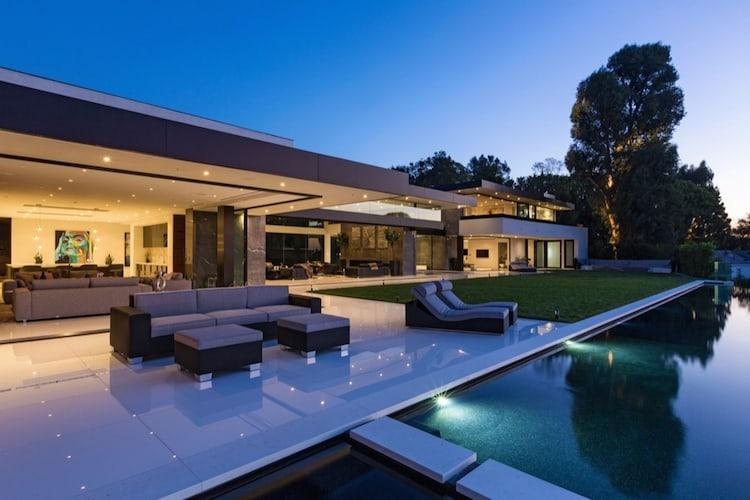 Ultra lujosa mega mansión en Bel-Air, California con sorprendente precio de $55 MILLONES