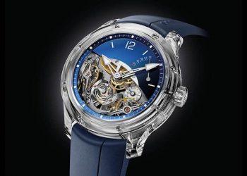 Double Balancier Sapphire por Greubel Forsey: Excelente tecnología mecánica visible desde todos los ángulos