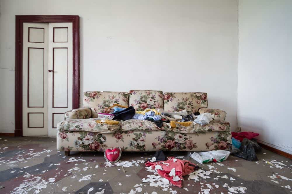 Mueble destruido