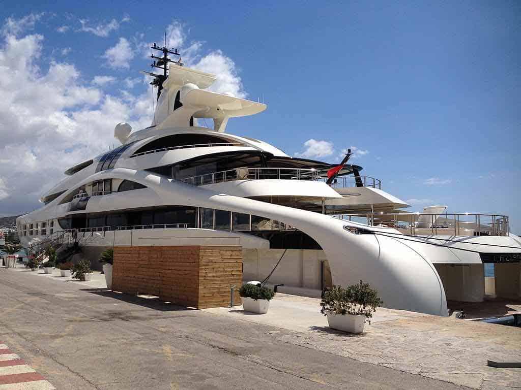 Palladium: Chequea el ultra lujoso mega yate del magnate ruso Mikhail Prokhorov