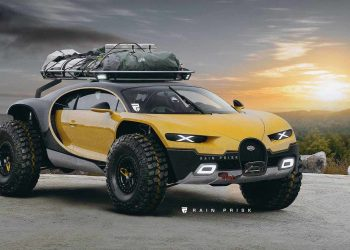 Bugatti Chiron Off-Road 4×4: El todoterreno ideal para las más locas de tus aventuras