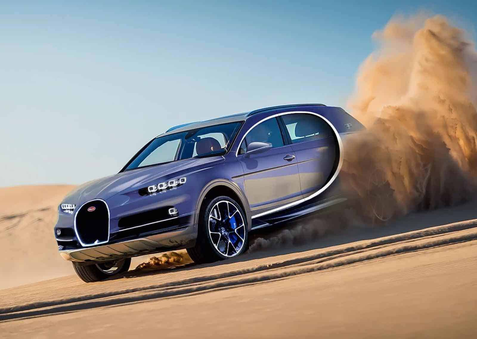 ¿Realmente el mundo necesita de una SUV Bugatti?