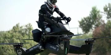 Te presentamos la Hoverbike, la primera moto voladora que si podrás comprar