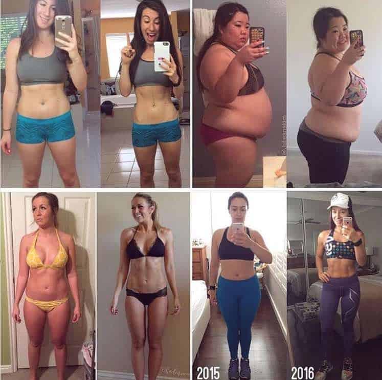 Estas increíbles fotos del ¡antes y después! están creando un imperio fitness para esta mega estrella de Instagram