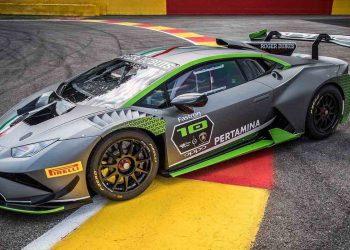 El Lamborghini Huracán Super Trofeo Evo 10th Edition hará que tu corazón se salte latidos