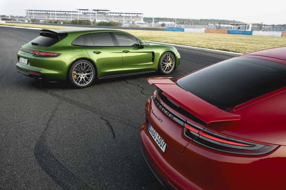 Nuevas versiones GTS: dos atletas se unen a la familia Porsche Panamera