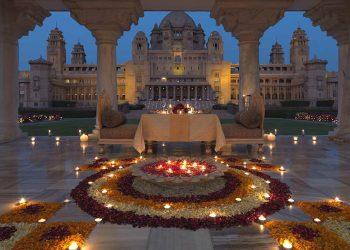 """Umaid Bhawan Palace, este ultra lujoso hotel en la India fue nombrado el """"mejor hotel del mundo"""" por TripAdvisor"""
