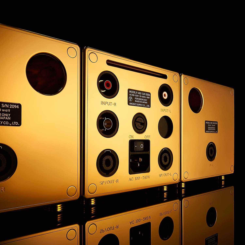 Los altavoces más lujosos y caros del mundo cuestan $5 millones y están hechos de oro macizo y diamantes