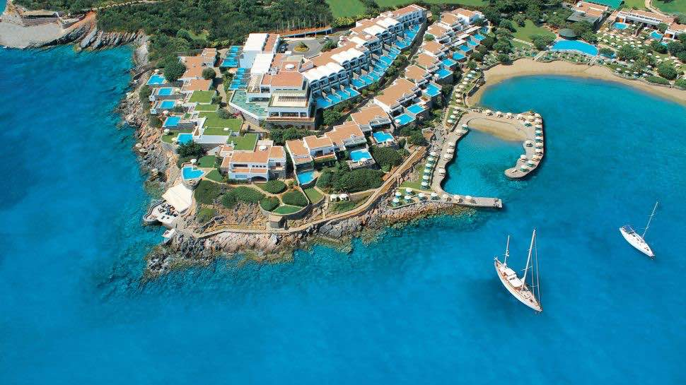 Elounda Peninsula: Hotel 6 estrellas en Creta, Grecia
