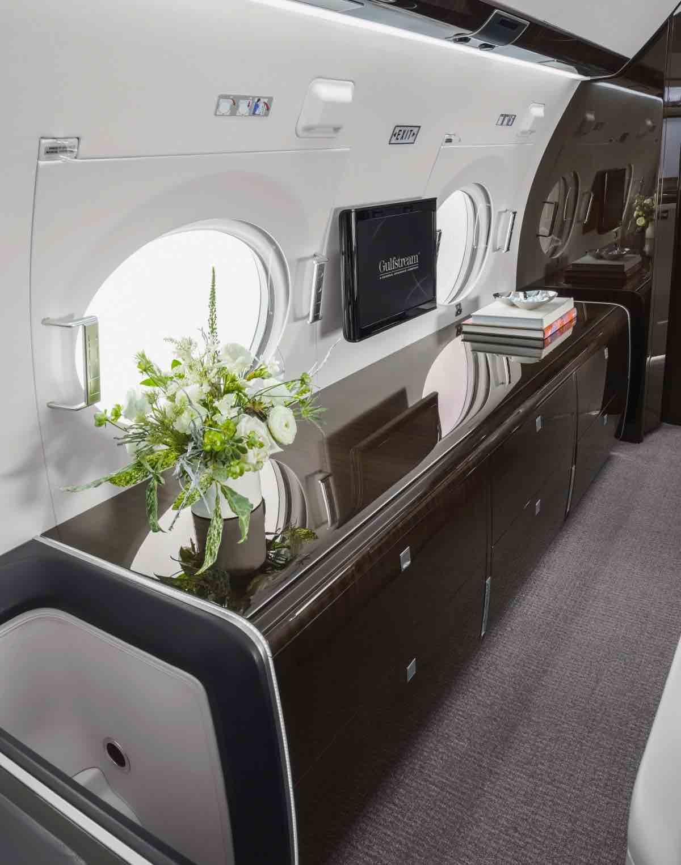 El súper elegante jet privado de $30 millones que va de Londres a Seattle sin recargar el tanque