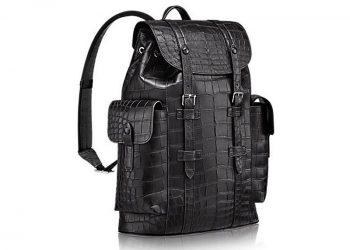 """Exclusiva mochila para hombres """"Christopher"""" de $81.500 por Louis Vuitton"""