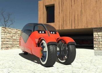 Lane Splitter: Este futurista concepto se divide para crear dos motocicletas