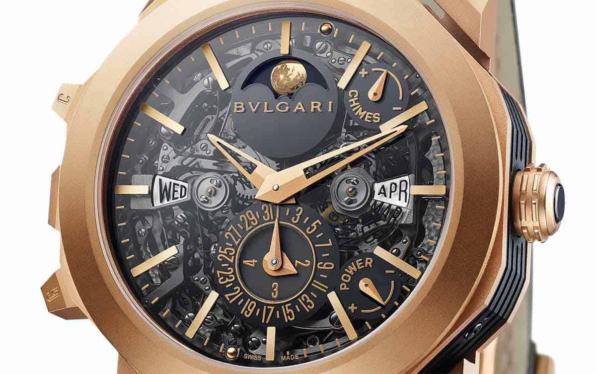 Calendario perpetuo de Octo Grande Sonnerie: Este es el reloj Bulgari más complicado de la historia