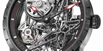 Reloj Roger Dubuis Excalibur Automatic Skeleton Carbon