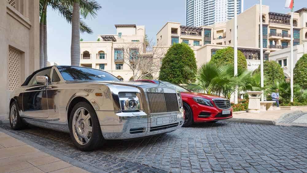 Rolls-Royce y Mercedes-Benz en Dubai