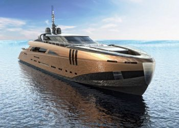 El diseño de este increíble concepto de mega yate tomó dos años y medio... costará $26 millones