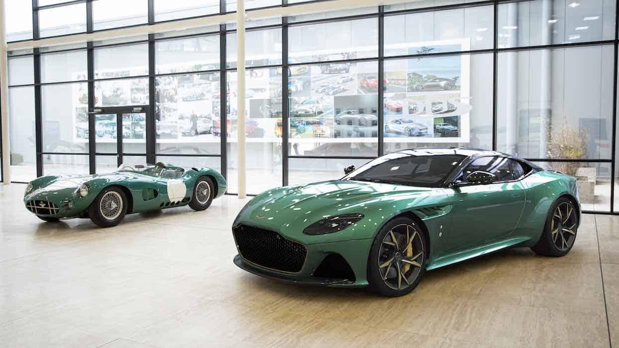 Una belleza que recuerda las 24 Horas de Le Mans, así es el nuevo Aston Martin DBS 59 Coupé
