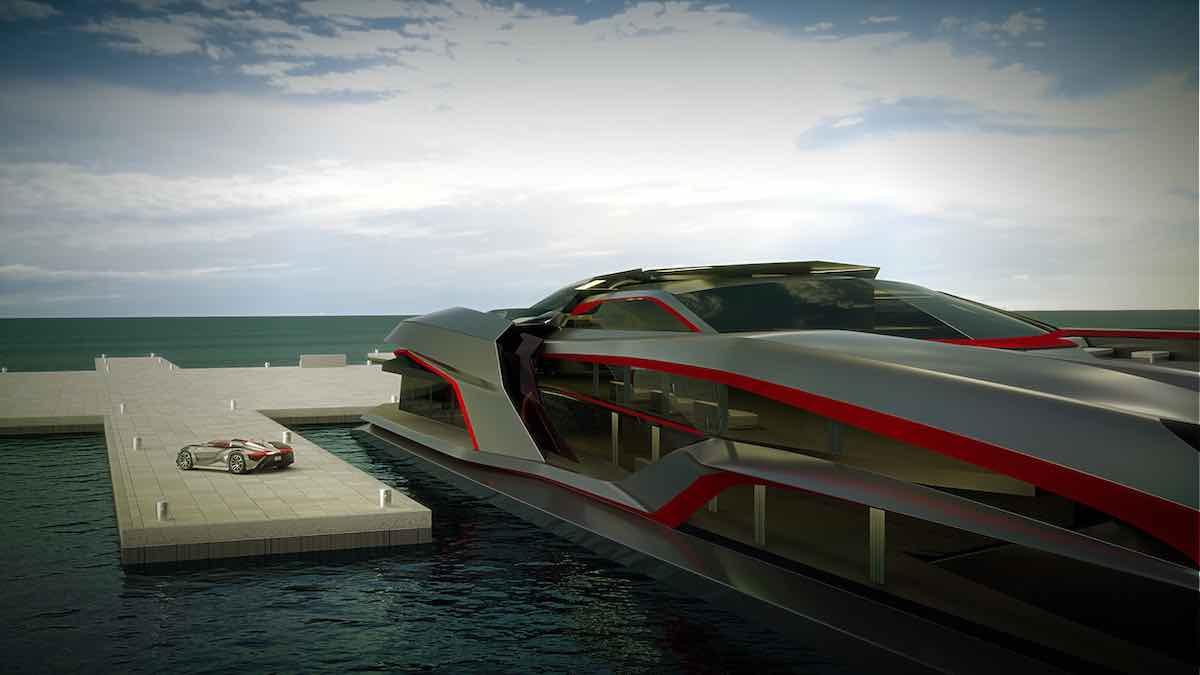 El monstruoso yate KRAKEN por Gray Design se apodera de los mares