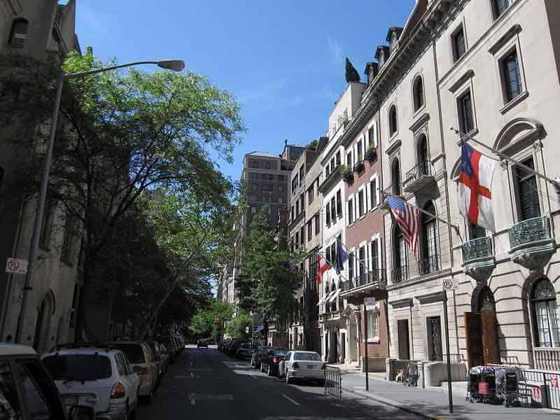 Upper East Side, Nueva York - Código ZIP 10021