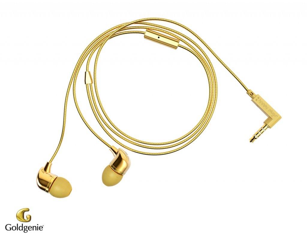 ¡Suena como oro! Goldgenie presenta nuevos altavoces de oro para iPhone