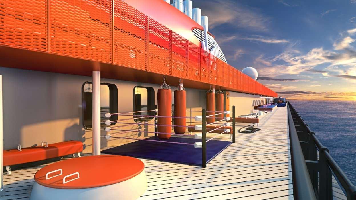 Virgin Voyages, compañía de Sir Richard Branson, presenta los diseños de su primer crucero de lujo