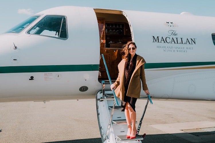Macallan ofrece una experiencia de lujo por $46.000? Entre jet privado y Whisky