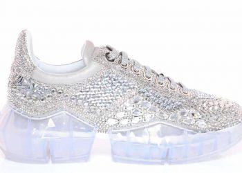 """Jimmy Choo presenta las exclusivas zapatillas deportivas """"Diamond"""" de $3.995"""