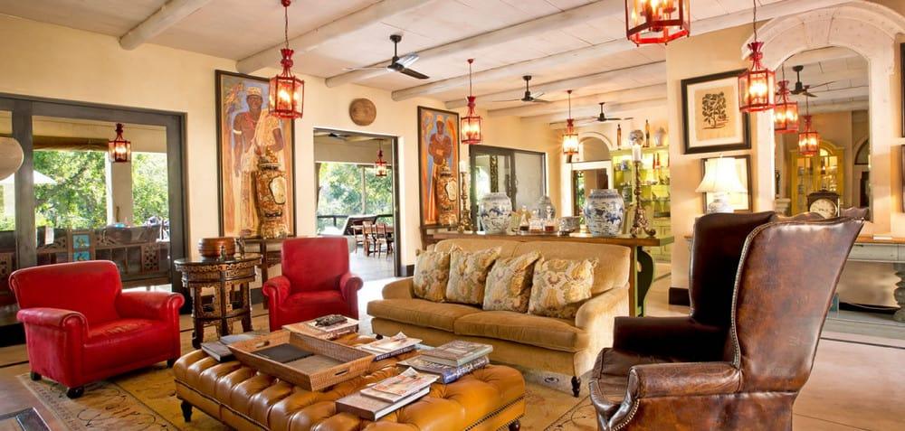 Africa House en el Royal Malewane, Sudáfrica