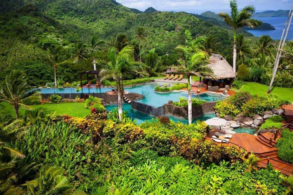 Hilltop Villa en el Laucala Island Resort, isla de Laucala, Fiji