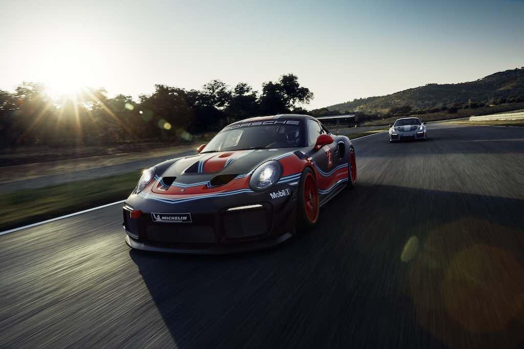 Porsche 911 GT2 RS Clubsport con 700 caballos