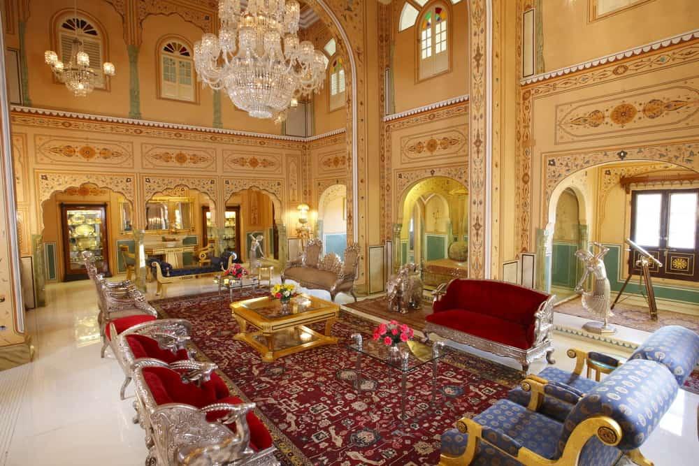 'Maharajah Pavilion' del Raj Palace, Jaipur, India