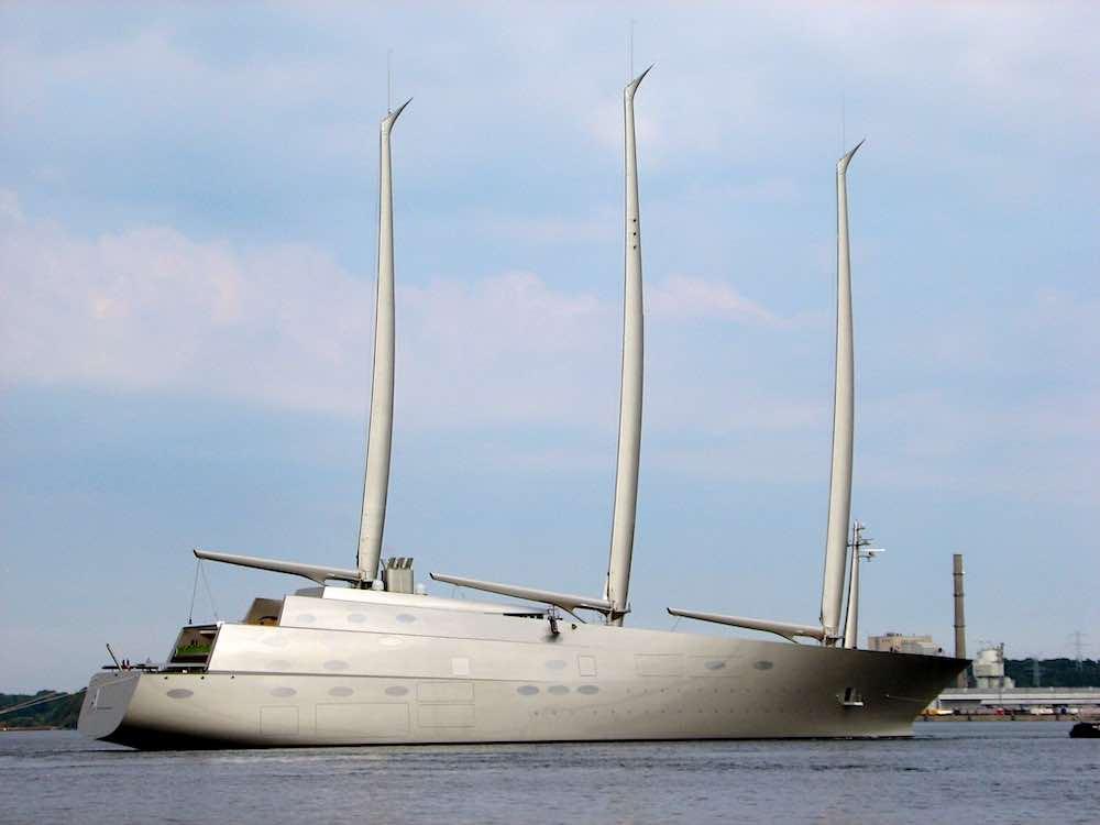 Sailing Yacht 'A'