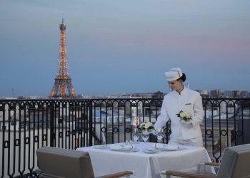 The Peninsula Paris: Secret Table en el tejado
