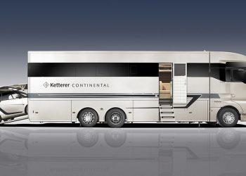 """Con la espectacular """"Ketterer Continental"""" ahora podrás viajar en un vehículo personal y una lujosa casa rodante ¡al mismo tiempo!"""